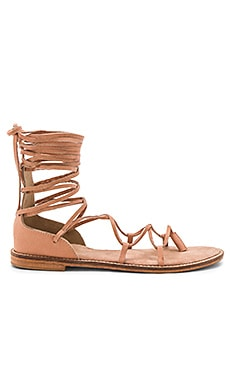 Pave Sandal in Nude