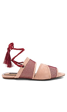 Split Lace Sandal