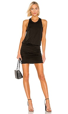 Racerback Blouson Dress James Perse $175