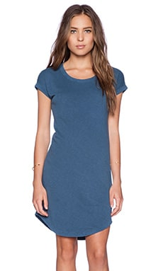 James Perse Sweatshirt Dress in Captain