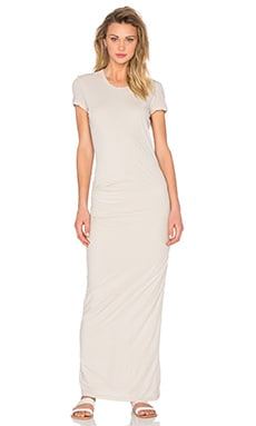 James Perse Tee Maxi in Driftwood