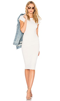 Classic Skinny Dress in Talc