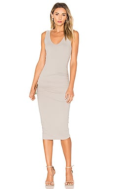 Skinny Tank Dress in Dapple