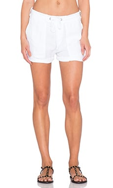 James Perse Surplus Short in White