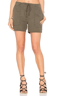 Cotton Linen Pique Short en Platoon