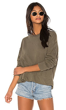 Relaxed Crop Pullover James Perse $135