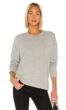 Relaxed Crop Pullover Sweatshirt James Perse $135