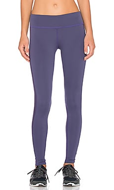 James Perse Yosemite Side Stripe Yoga Pant in Concrd