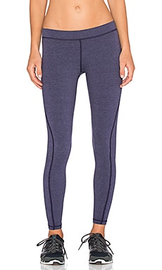 James Perse Yosemite Spiral Seam Yoga Pant in Concord