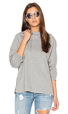 Oversized Hoodie in Heather Grey