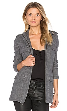 Field Jacket in Heather Charcoal