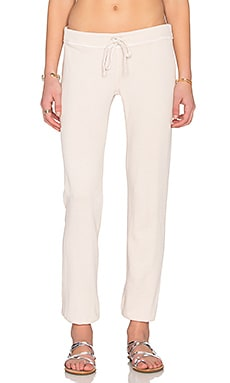 James Perse Genie Sweatpant in Pink Hue
