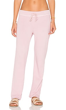 James Perse Genie Sweatpant in Antique Rose