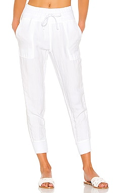 Relaxed Canvas Linen Pant James Perse $225