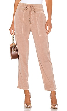 Pull On Clean Cargo Pant James Perse $265 NEW ARRIVAL