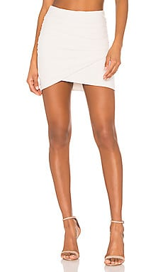Wrap Mini Skirt James Perse $165