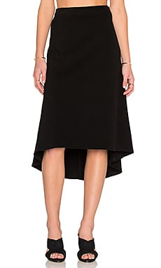 James Perse Tango Skirt in Black