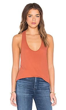 High Hauge Jersey Tank in Redrock