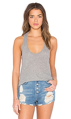 High Hauge Jersey Tank in Heather Grey