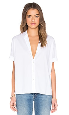 Rolled Sleeve Shirt en Blanc