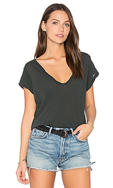 Deep V Tee in Fern