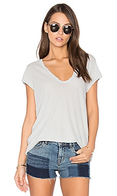 Deep V Tee in Foam