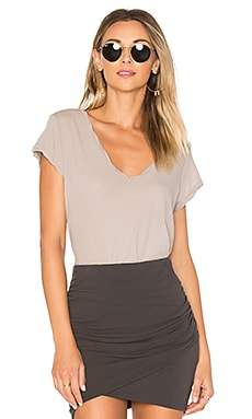 Deep V Tee in Dapple