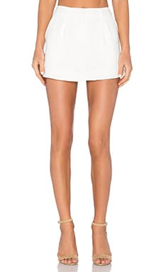 James Jeans Trouser Skort in Pearl White