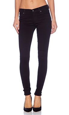 James Twiggy 5 Pocket Legging in Black Clean