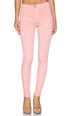 James Jeans High Class Skinny Ultra Flex HD Color Skinny in Pink Lemonade