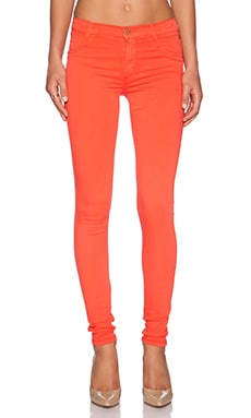 James Jeans James Twiggy Ultra Flex HD-Color Legging in Cherry Red