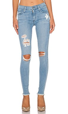 James Jeans Twiggy Skinny in Stream Distressed