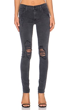 James Jeans James Twiggy Skinny in Slate Distressed