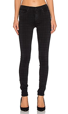 James Jeans James Twiggy Skinny in Slate Plaid