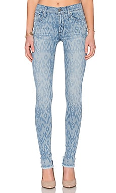 James Jeans James Twiggy 5 Pocket Legging in Splash Ikat