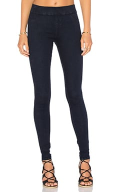 Twiggy Slip On Legging en Blue Moon