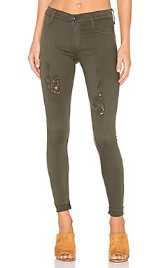 Twiggy Dancer in Deep Army Distressed