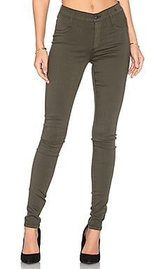 Twiggy Dancer Legging in Deep Army