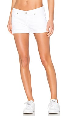 Shorty Boyfriend Short in White