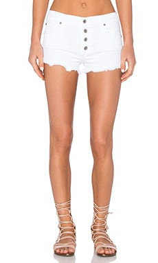 James Jeans Cutie Pie Short in Clean White