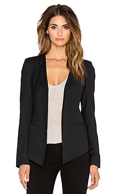 James Jeans V-Blazer in Silky Blue Black