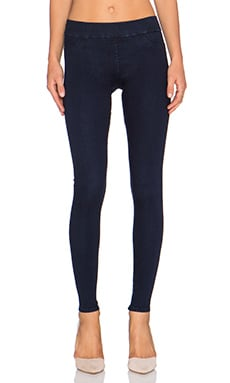 James Jeans James Twiggy Slip On Legging in Blue Velvet