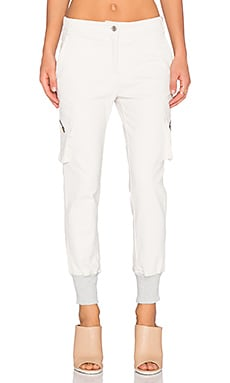 James Jeans Boyfriend Cargo in Winter White