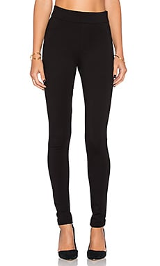 James Jeans James Twiggy Slip-On Legging in Black Ponte