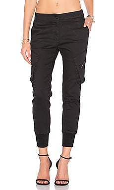 Boyfriend Cargo Pant in Black