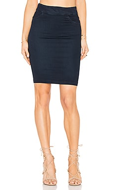 James Jeans Pull On Pencil Skirt in Blue Moon