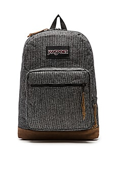 Jansport Right Pack Digital Edition in Grey Houndstooth