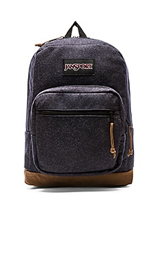 Jansport Right Pack Digital Edition in Navy Blue Felt