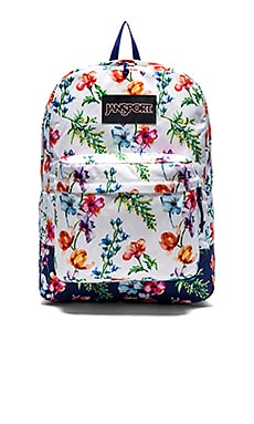 Jansport Superbreak in Multi White Mountain Meadow