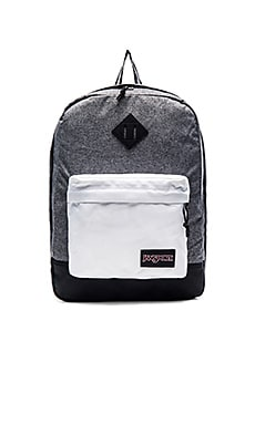 Jansport Super FX in Black White Lantern